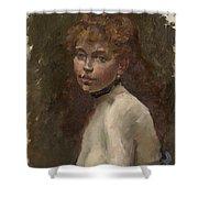Portrait Of Mery Laurent Shower Curtain