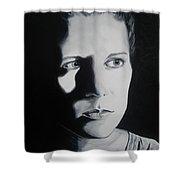 Portrait Of Michelle C. Shower Curtain