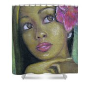 Portrait Of Monica Shower Curtain