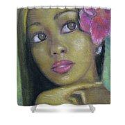 Portrait Of Monica Shower Curtain