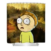 Portrait Of Morty Shower Curtain