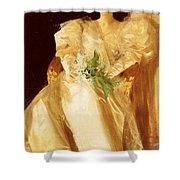 Portrait Of Mrs Eben Richards Anders Zorn Shower Curtain