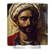 Portrait Of Mustapha Shower Curtain