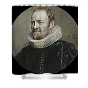 Portrait Of Nicholas Rockox Shower Curtain