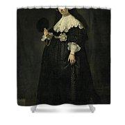 Portrait Of Oopjen Coppit Shower Curtain