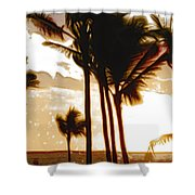 Portrait Of Paradise Shower Curtain
