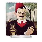 Portrait Of Pierre Loti Shower Curtain