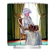 Portrait Of Prudence Shower Curtain