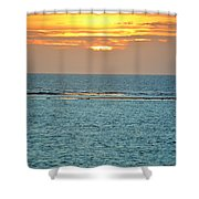 Portrait Of The Sea Shower Curtain