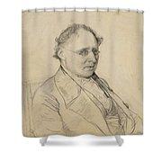 Portrait Of Sir Drack Shower Curtain