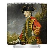 Portrait Of Sir Gerard Napier Shower Curtain