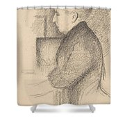 Portrait Of The Artists Mother Shower Curtain