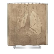 Portrait Of The Artist's Mother Shower Curtain