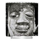 Portrait Of The Buddha Shower Curtain
