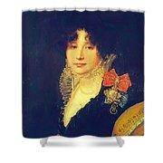 Portrait Of The Princess A Scherbatova 1808 Shower Curtain
