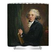 Portrait Of The Scottish Shower Curtain