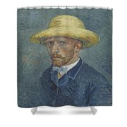 Portrait Of Theo Van Gogh Paris, Summer 1887 Vincent Van Gogh 1853  1890 Shower Curtain