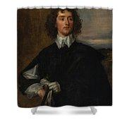 Portrait Of Thomas Hanmer Shower Curtain