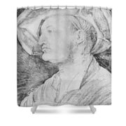Portrait Of Ulrich Varnbiiler 1522 Shower Curtain