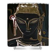 Portrait Of Vajrasattva Shower Curtain