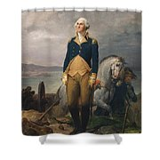 Portrait Of Washington Shower Curtain