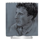Portrait Of Young Man 19 Shower Curtain
