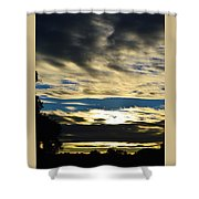 Portrait Sunrise Shower Curtain