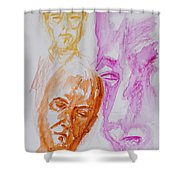 Portraits In 3b Shower Curtain