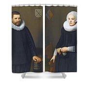 Portraits Of Ijsenbrand Allerts Shower Curtain