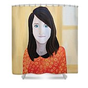 Portrat Of M.b. Shower Curtain