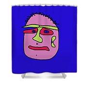 Portrait 02 Shower Curtain