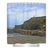 Portreath Cornwall Shower Curtain