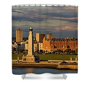 Portsmouth And Southsea England  Shower Curtain
