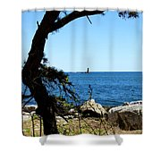 Portsmouth Harbor Light Shower Curtain
