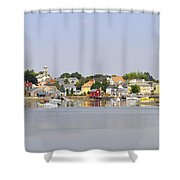 Portsmouth Nh South End Psep Shower Curtain