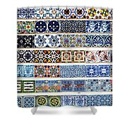 Portugal 17 Shower Curtain
