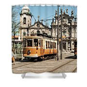 Portugal 36 Shower Curtain