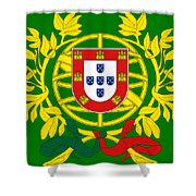 Portugal Crest  Shower Curtain