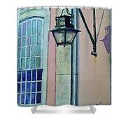 Portugal Street Scene Shower Curtain