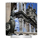 Portugese Architecture 1 Shower Curtain