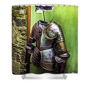 Portuguese Armor Shower Curtain