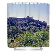 Portuguese Fortress Shower Curtain
