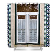 Portuguese Window Shower Curtain