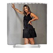 Pose Shower Curtain