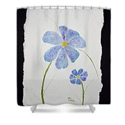 Posies Shower Curtain