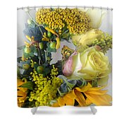 Posies Picturesque Shower Curtain