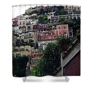 Positano, Amalfi,, Italy Shower Curtain