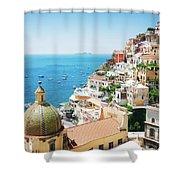 Positano, Italy II Shower Curtain