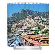 Positano Resort Shower Curtain