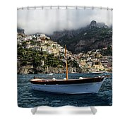 Positano By The Water Shower Curtain